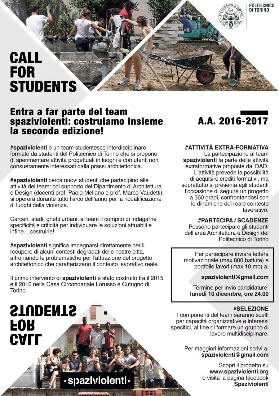 call-for-students-spaziviolenti
